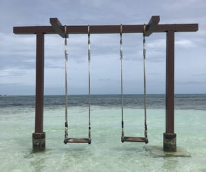lonely, Maldives, and quiet image