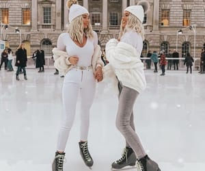 winter, fashion, and beauty image