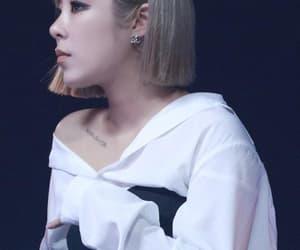blonde, short hair, and mamamoo image