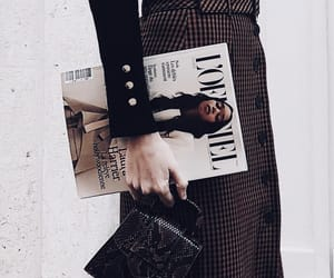 fashion, magazine, and outfit image