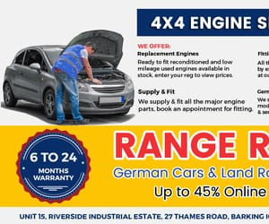 german cars and land rover specialists image