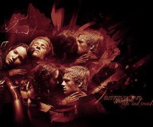 film, katniss everdeen, and love image