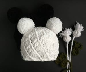 etsy, white hat, and hat with ears image
