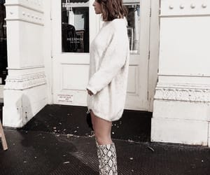 boots, classy, and streetstyle image