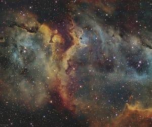 beauty, galaxy, and nebula image