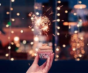 chocolate, christmas, and cupcake image