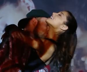 kiss, music, and ariana grande image