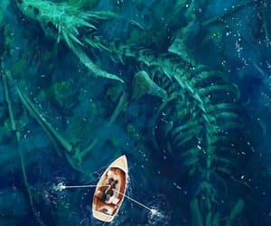fantasy, ocean, and boat image