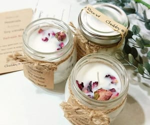 candle, diy, and gift idea image