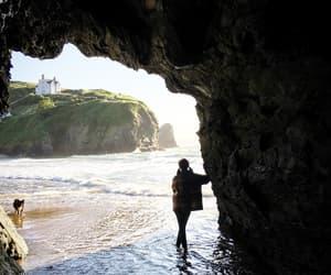 beach, fantasy, and landscape image