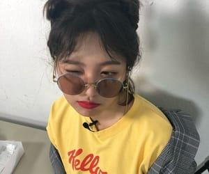 girl, korean girl, and очки image