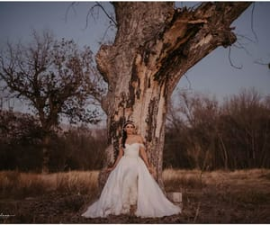 bohemian, boho, and bride image