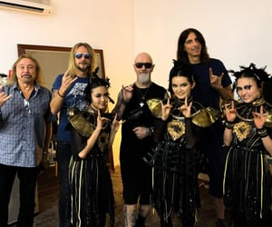 Judas Priest and babymetal image