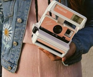 aesthetic and polaroid image
