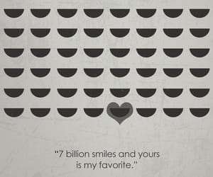 heart, love quote, and smile image