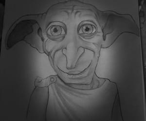 potter, dobby, and harry poter image