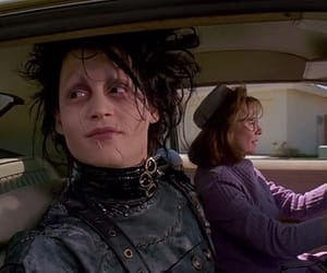 edward scissorhands, movie, and johnny depp image