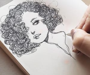 drawings, cute, and girl image