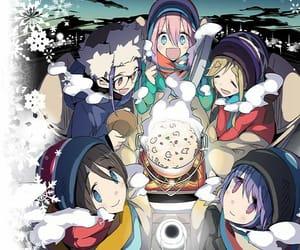 anime, cute, and yuru camp image