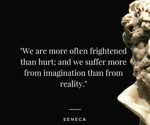 fear, quote, and stoic image