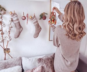 christmas, cozy, and goal image