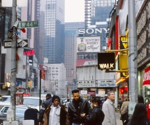 jeans, mode, and new york image