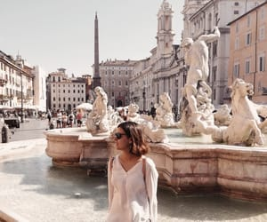 europe, fountain, and rome image
