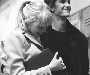 andrew garfield, emma stone, and the amazing spiderman image