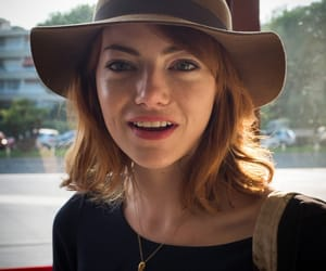 actress, beauty, and emma stone image