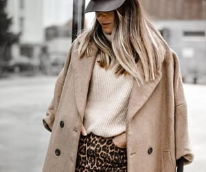 coat and skirt image