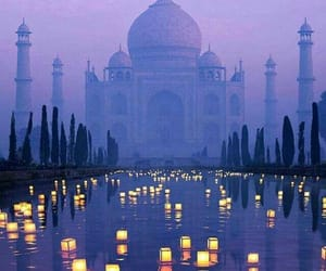 city, india, and taj mahal image