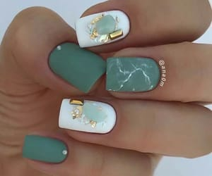 beuty, manicure, and nails image