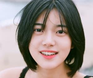 korean girl, short hair, and kpop image