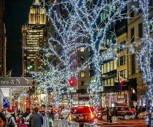 christmas, december, and christmas lights image