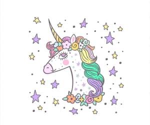 animal, pastel, and unicorn image
