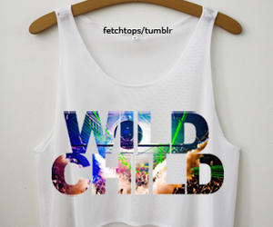 clothes, tops, and wild child image