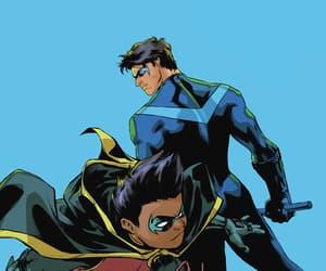comics, DC, and robin image
