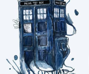 doctor who, tardis, and time lord image