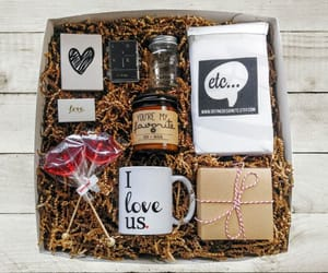 gift box, gifts, and lovely image