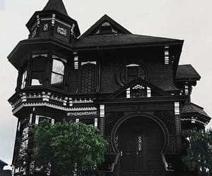 black, house, and gothic image