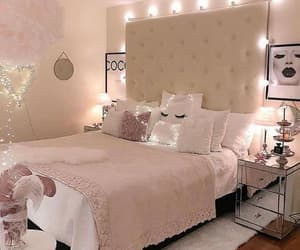 bedroom, chic, and decoration image