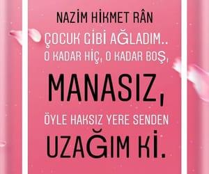 nazim hikmet, alıntı, and türkçe sözler image