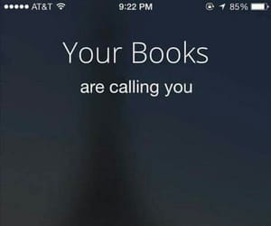 book, call, and reading image