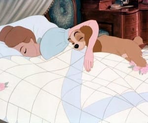 disney, dog, and lady image