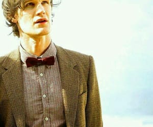 doctor who, matt smith, and bow tie image