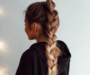 hair, braid, and fashion image