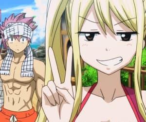 anime girl, anime boy, and gif image