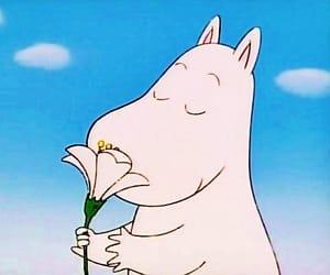 anime, cartoon, and flower image
