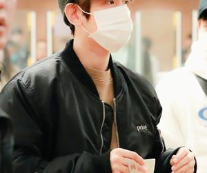 airport, fashion, and baekhyun image