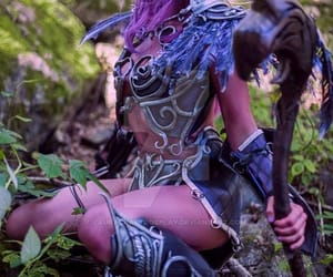 cosplay, wow, and night elf image